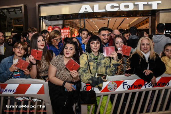 Da Sanremo alle librerie: Elettra Lamborghini e Francesco Gabbani a Palermo