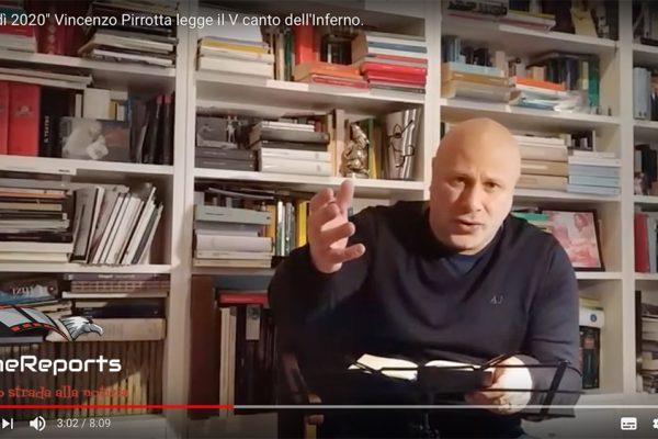 """Dantedì, Vincenzo Pirrotta: """"l'amore supera la ragione"""""""