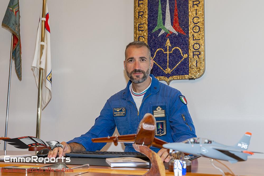 Frecce Tricolori - Maggiore Gaetano Farina