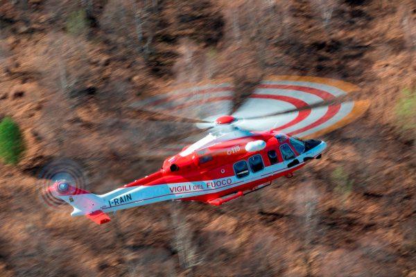 Leonardo consegna due AW139 ai Vigili del Fuoco di Catania