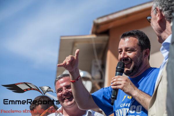 "Evasi Rebibbia, Salvini: ""Non ditelo a Bonafede che sennò si offende"""