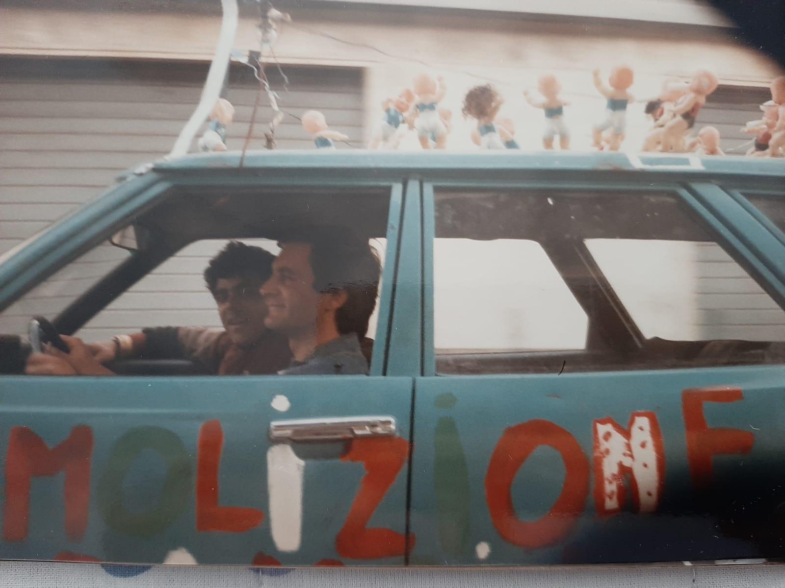 Festa Scudetto Napoli - 10 maggio 1987