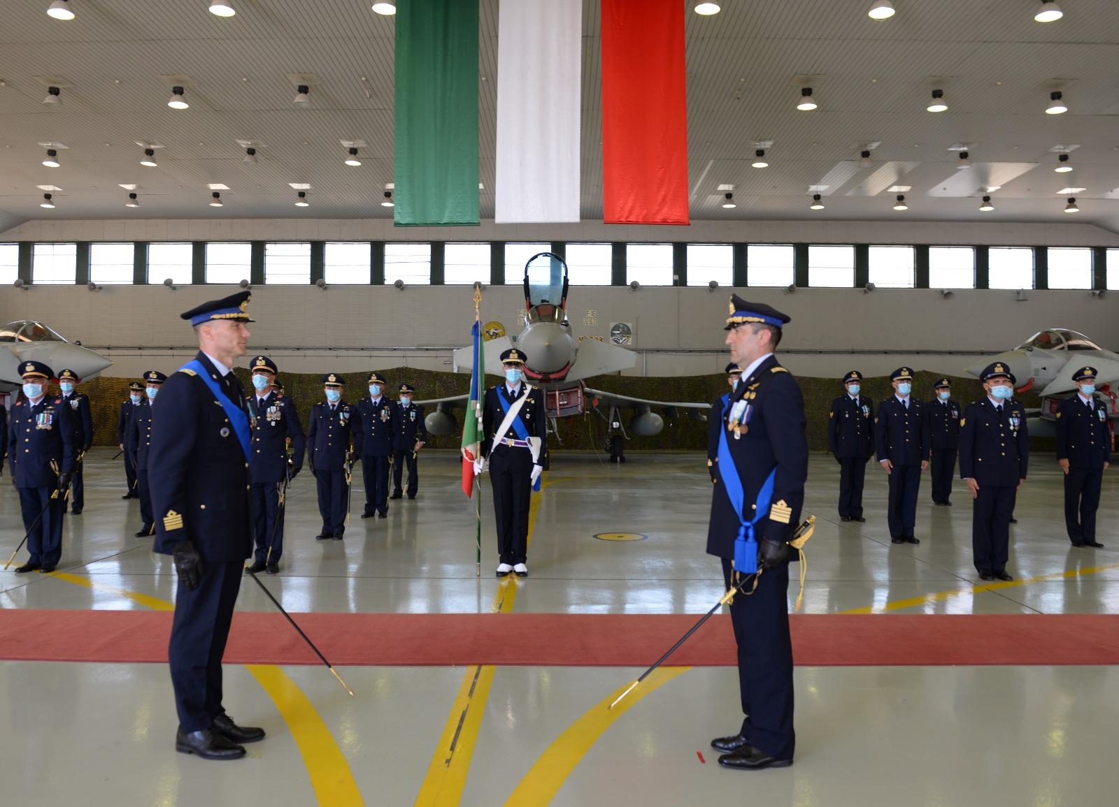 Cambio al vertice del 37° Stormo: nuovo Comandante il Colonnello Pilota Moris Ghiadoni