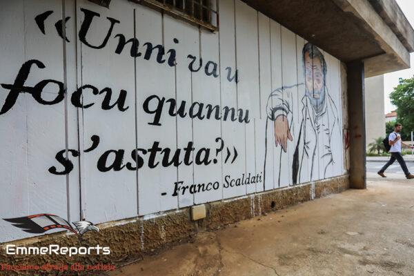 Archivio Scaldati a Venezia? A Palermo un murale di protesta