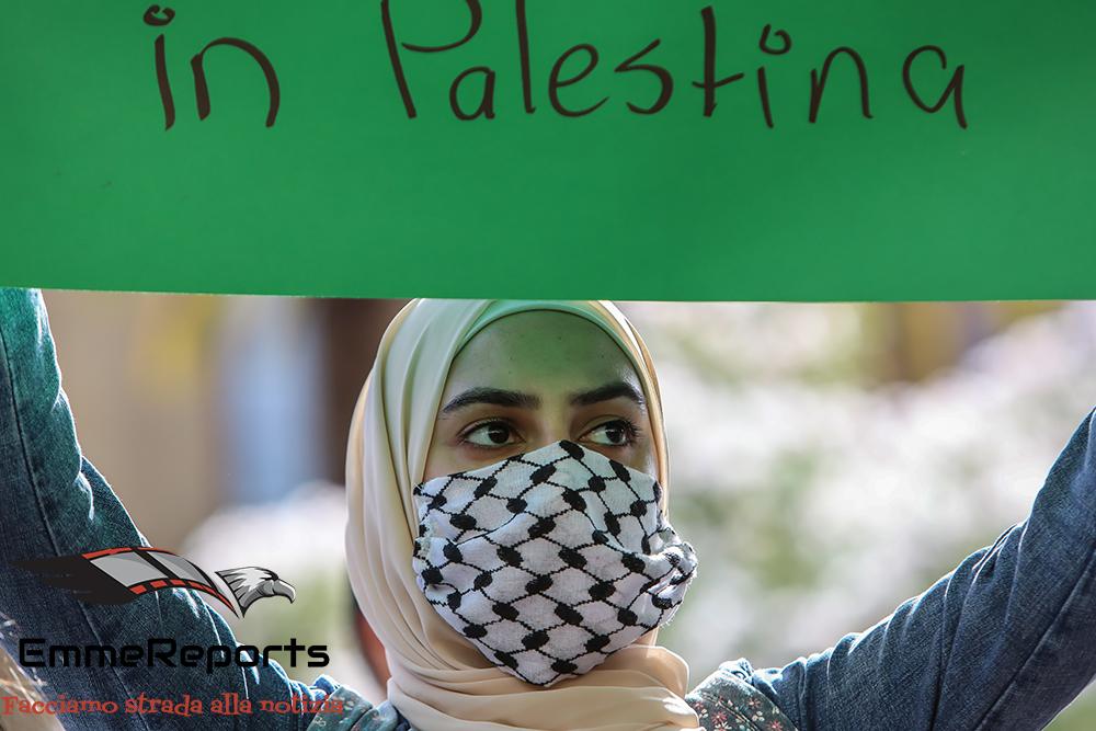 Liberta' e giustizia per la Palestina: manifestazione a Palermo