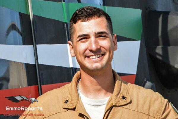 """Capitano Pilota Silvio Rizzo Pesci: """"Volare per il mio Paese è un enorme privilegio"""""""