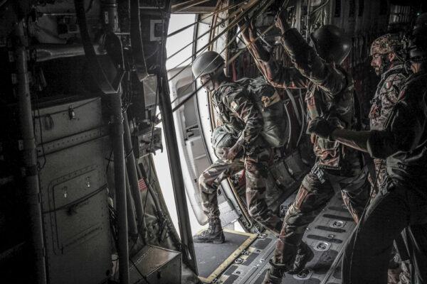 """Caporal Maggiore Scelto Paracadutista Giuseppe Tedesco: """"Fuori dal velivolo mi sentivo a casa"""