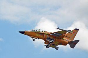 Leonardo, primo volo per l'M-346 Fighter Attack ottimizzato col radar Grifo