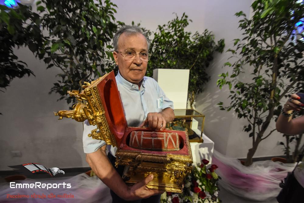 """Padre Giuseppe Bucaro: """"La presenza delle reliquie di Santa Rosalia nel cuore della città, un segnale forte di vicinanza"""""""
