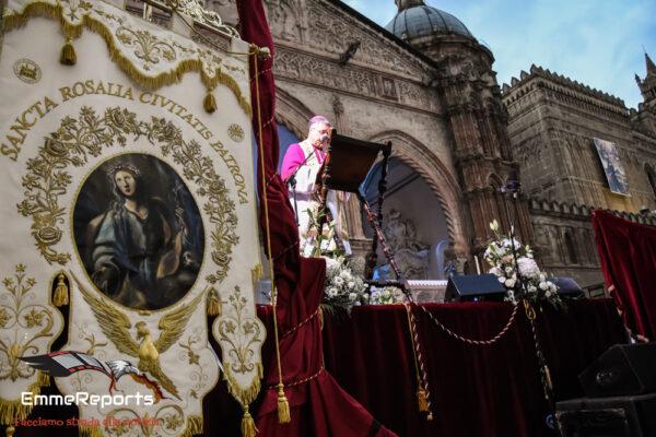 Festino, i Solenni Vespri Pontificali in Cattedrale per immagini