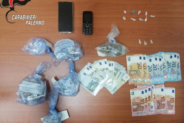 Bazar della droga in via Cipressi: i Carabinieri arrestano 21enne