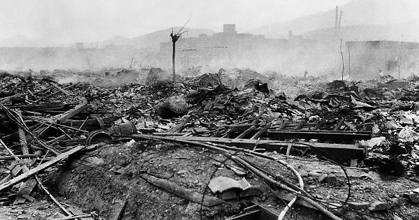 Gli effetti delle bombe in Giappone