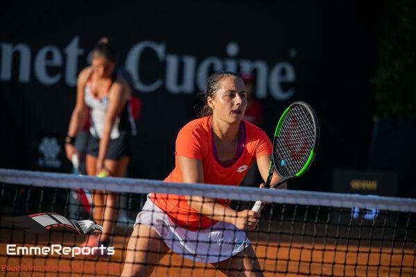 31° Palermo Ladies Open: Cocciaretto e Trevisan accedono alla finale di doppio