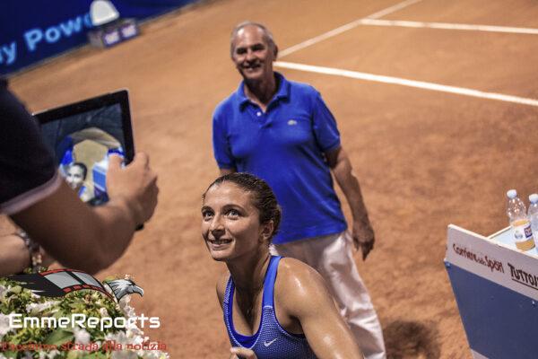 31° Palermo Ladies Open, Errani e Cocciaretto ai quarti. Non passa la Paolini