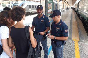 """Operazione """"Alto Impatto"""": la Polizia esegue controlli nella Stazione Centrale di Palermo"""