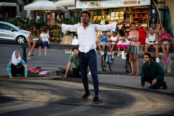 Palermo. Concerto per Willy, la performance di Raizes teatro contro l'odio razziale