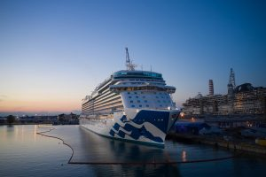 "Fincantieri, ""Enchanted Princess"" è la 100esima nave da crociera consegnata"
