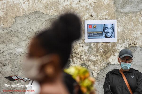 """Willy. Ibrahima Kobena """"Siamo qui per dire no a tutte le forme di violenze"""""""