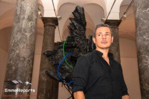 """Palazzo Sant'Elia, One Voice a Palermo con la scultura """"Forma Interiore"""" di Giacomo Rizzo"""