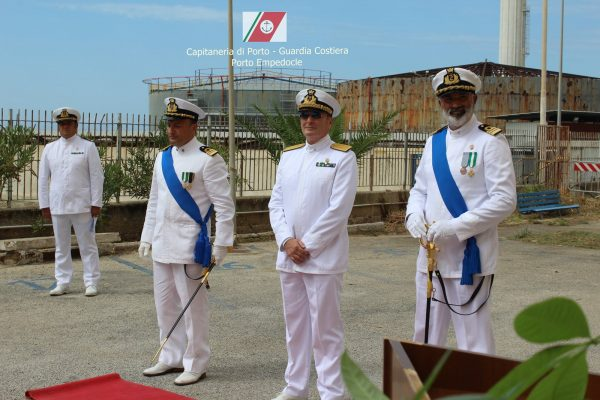 Porto Empedocle, il Capitano di Fregata Fabio Serafino è il nuovo Comandante della Capitaneria di Porto
