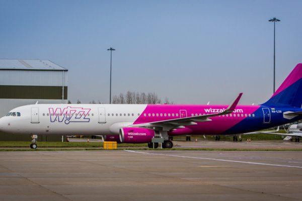 Wizz Air atterra a Palermo e Catania