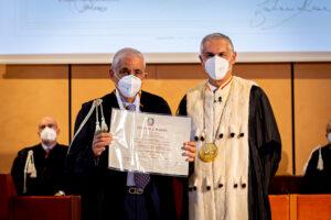 Laurea honoris causa a Tommaso Dragotto in Scienze Economico-Aziendali