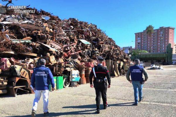 Rifiuti: Carabinieri del NOE sequestrano la Nova Recicling Metalli S.r.l.