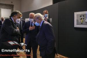 Palermo, Prefetto e Sindaco inaugurano la mostra di Banksy