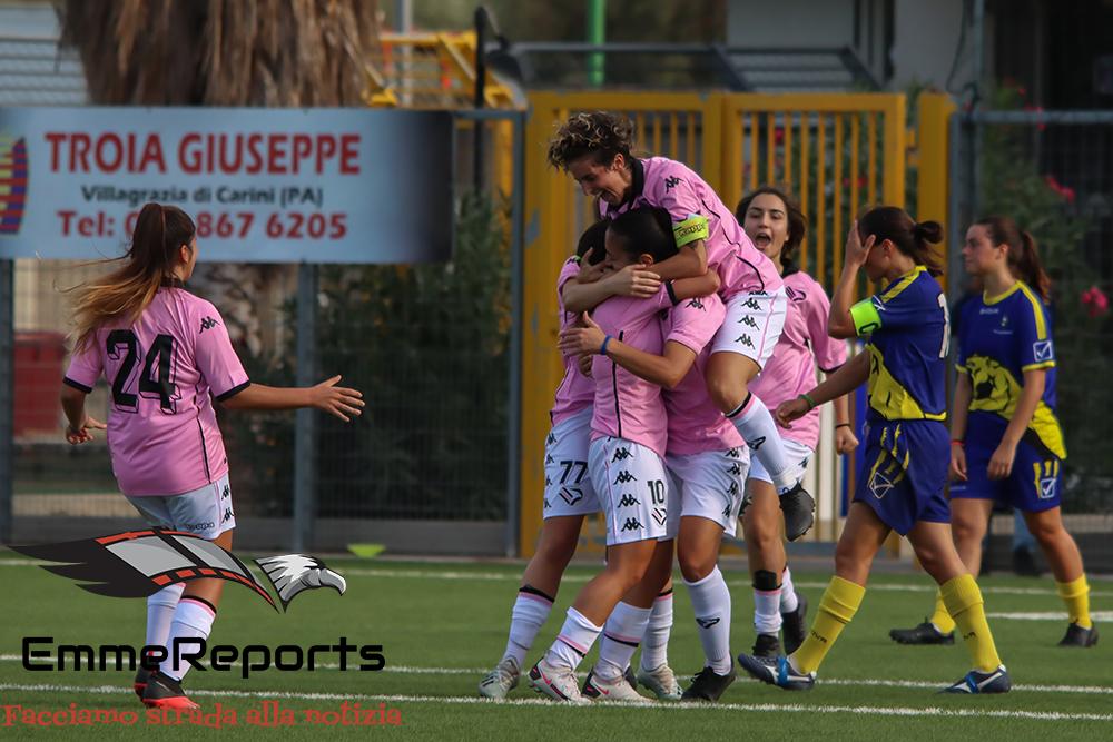 Palermo femminile: esordio in campionato con vittoria