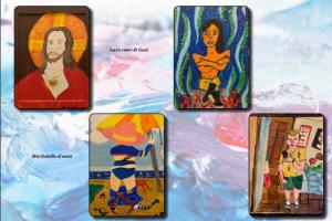 """""""L'arte diversamente abile"""": la mostra di Alech Rebel a Bagheria"""