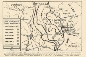 24 ottobre 1917: la battaglia di Caporetto
